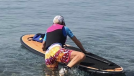 Coping With COVID in Cyprus With ASI SUP Instructor
